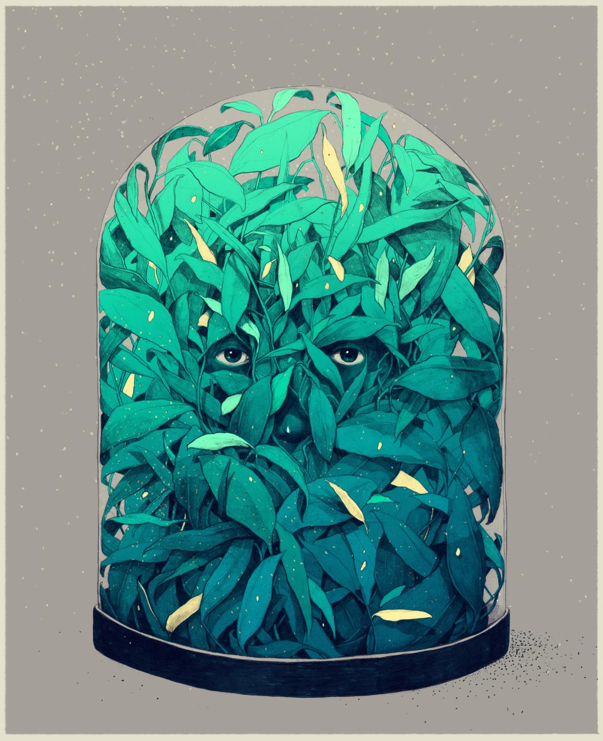 Необычные и сюрреалистические иллюстрации  художника Simón Prades