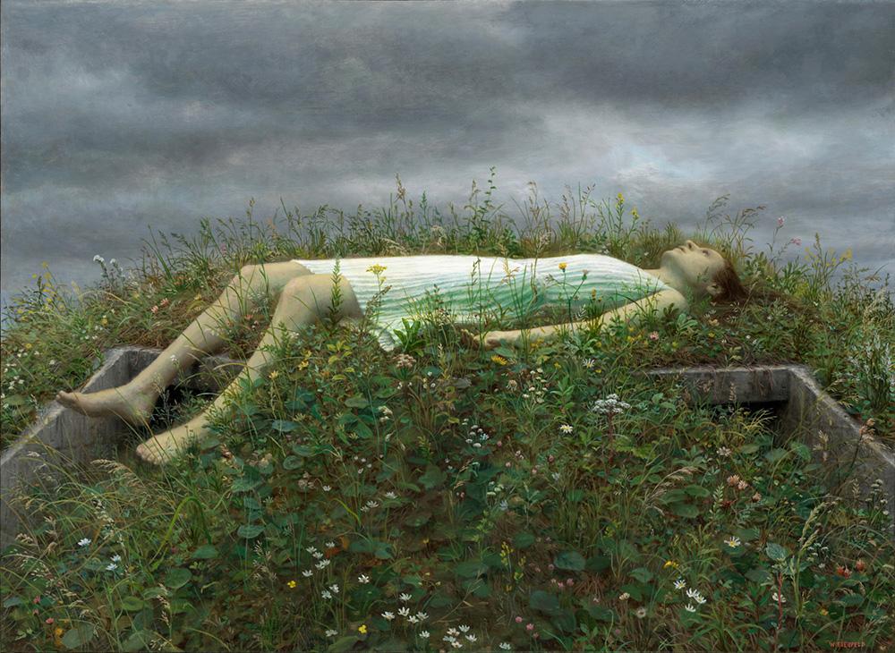 Необычная атмосфера в картинах художника Арона Визенфельда