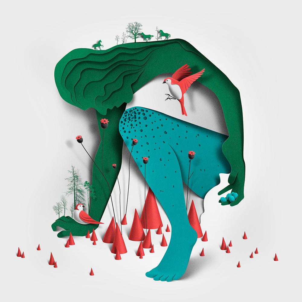 Будоражащие воображение иллюстрации Eiko Ojala