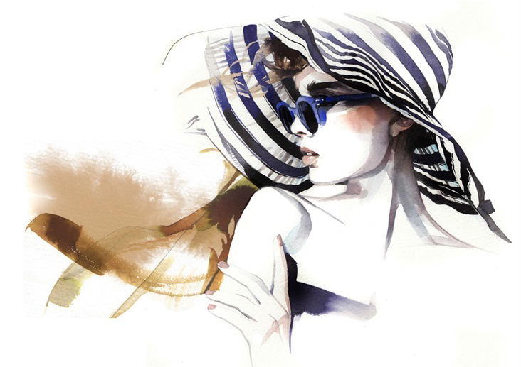 Модные иллюстрации художницы Petra Dufkova