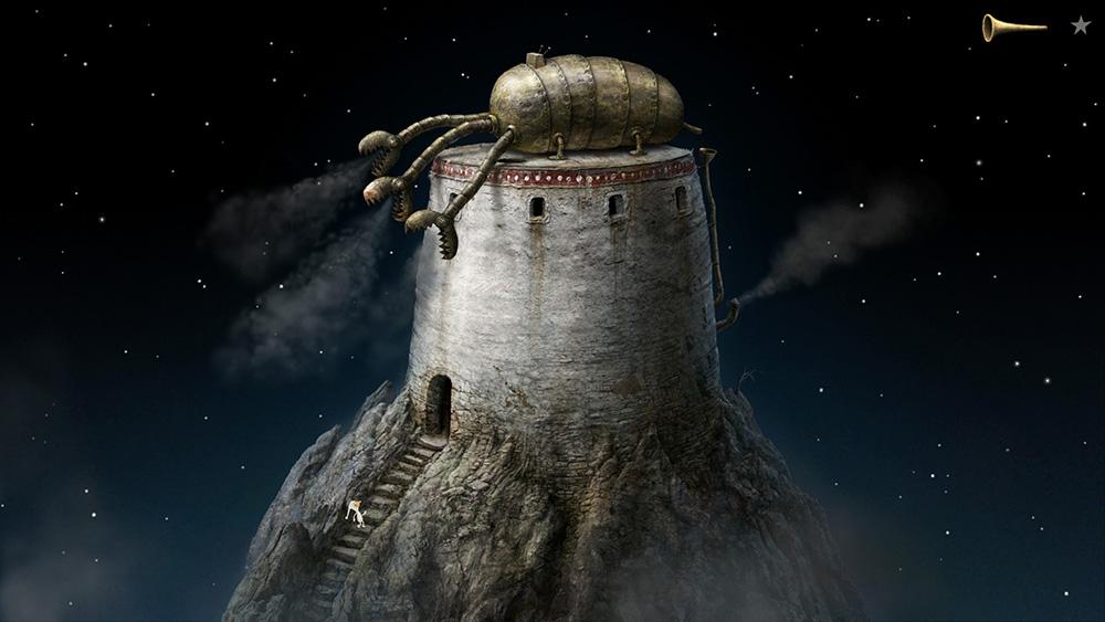 Фантастический арт приключенческой игры Samorost 3