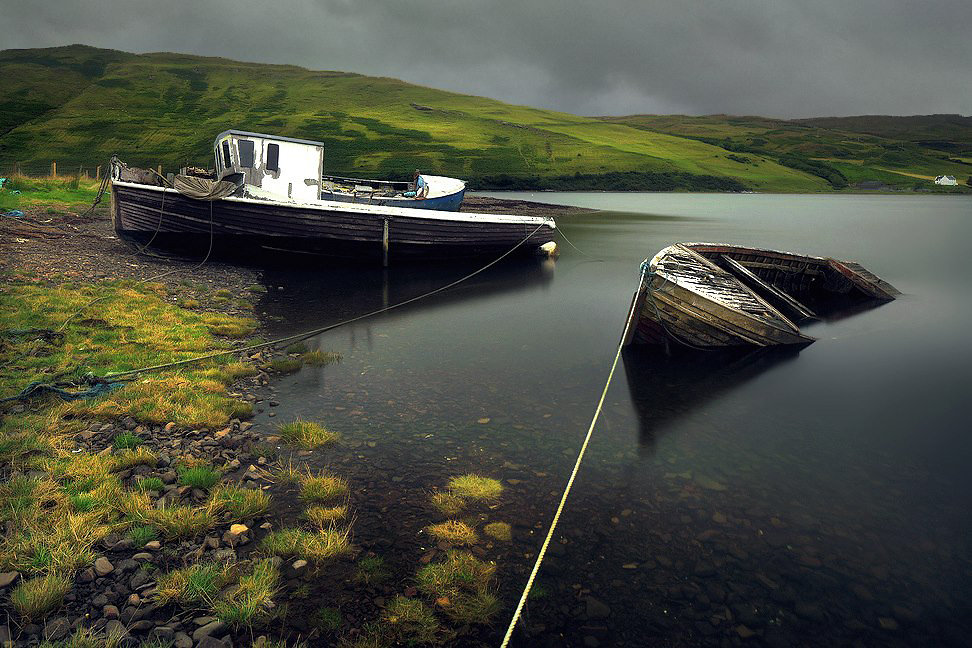 Удивительные пейзажи фотографа Килиана Шёнбергера