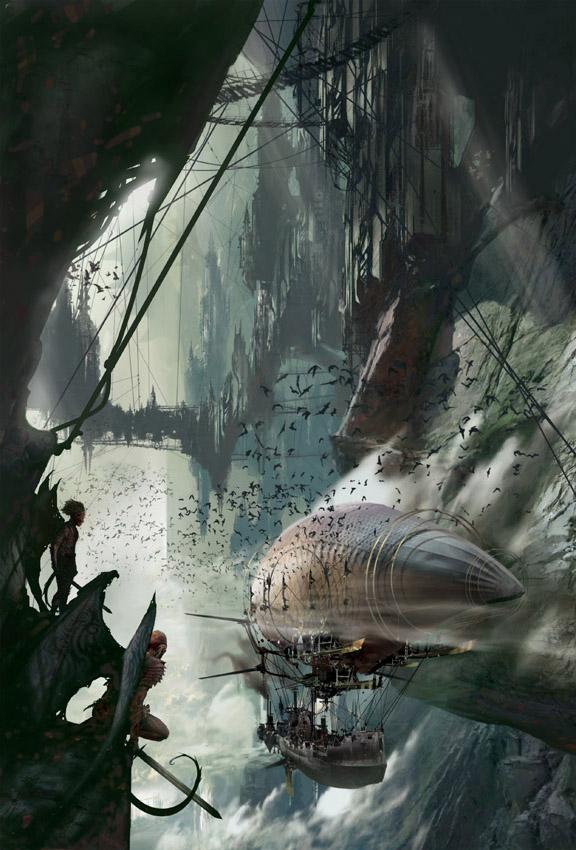 Фантастические иллюстрации Стефана Мартинера