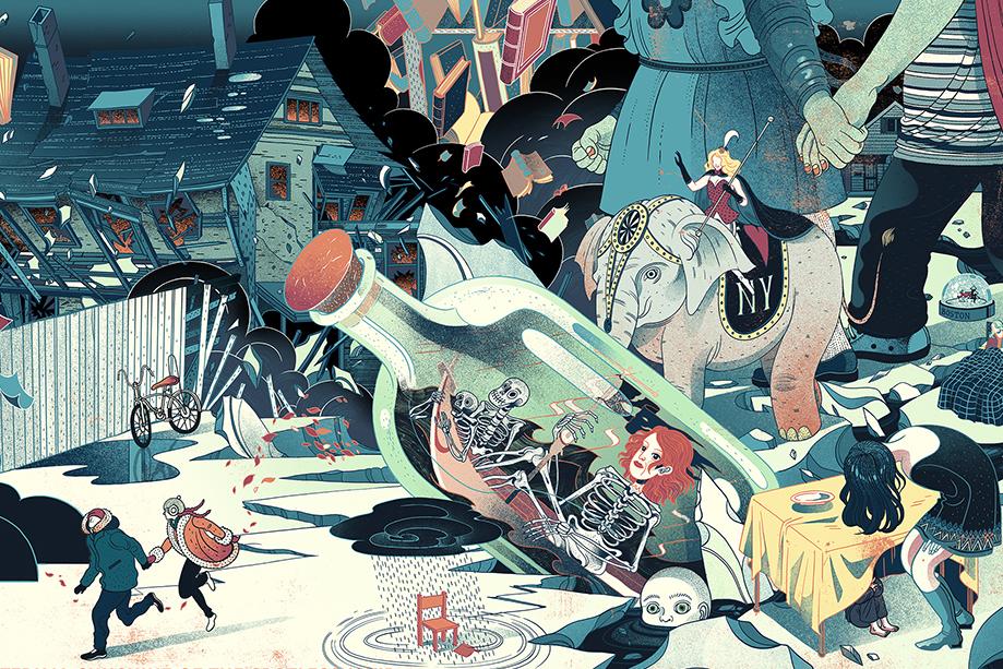 Таинственные иллюстрации художницы Викто Нгай