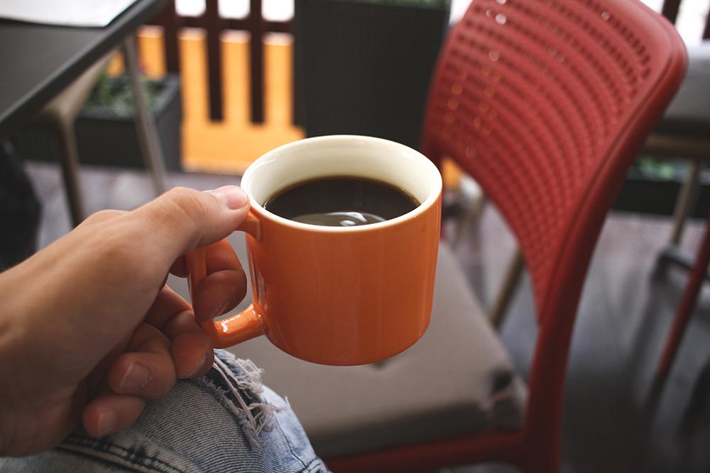 Выпил кофе в Шоколаднице