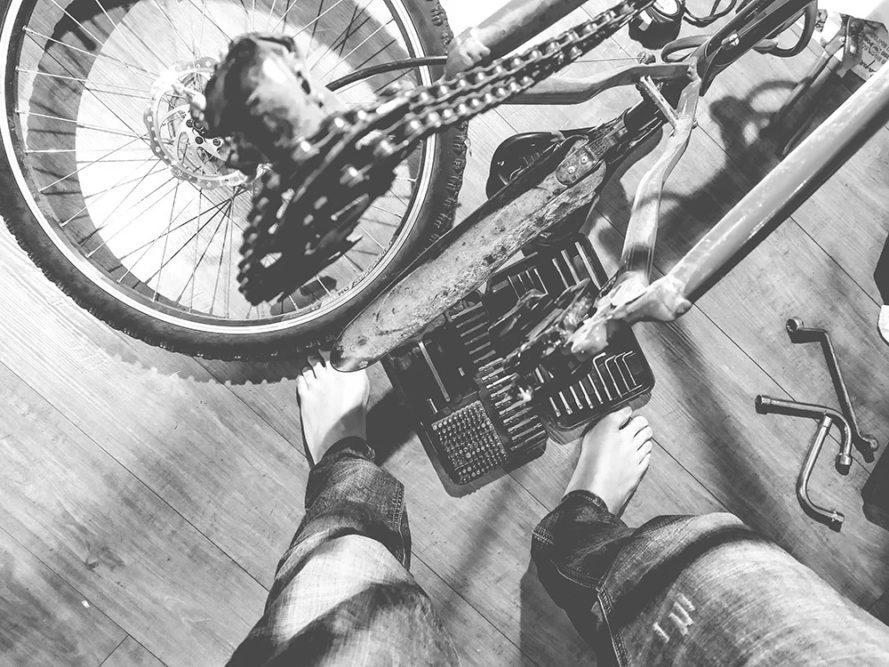 По Москве на велосипеде (Подготовка)
