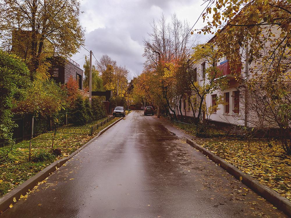 Фотографии старого поселка на территории города Москвы