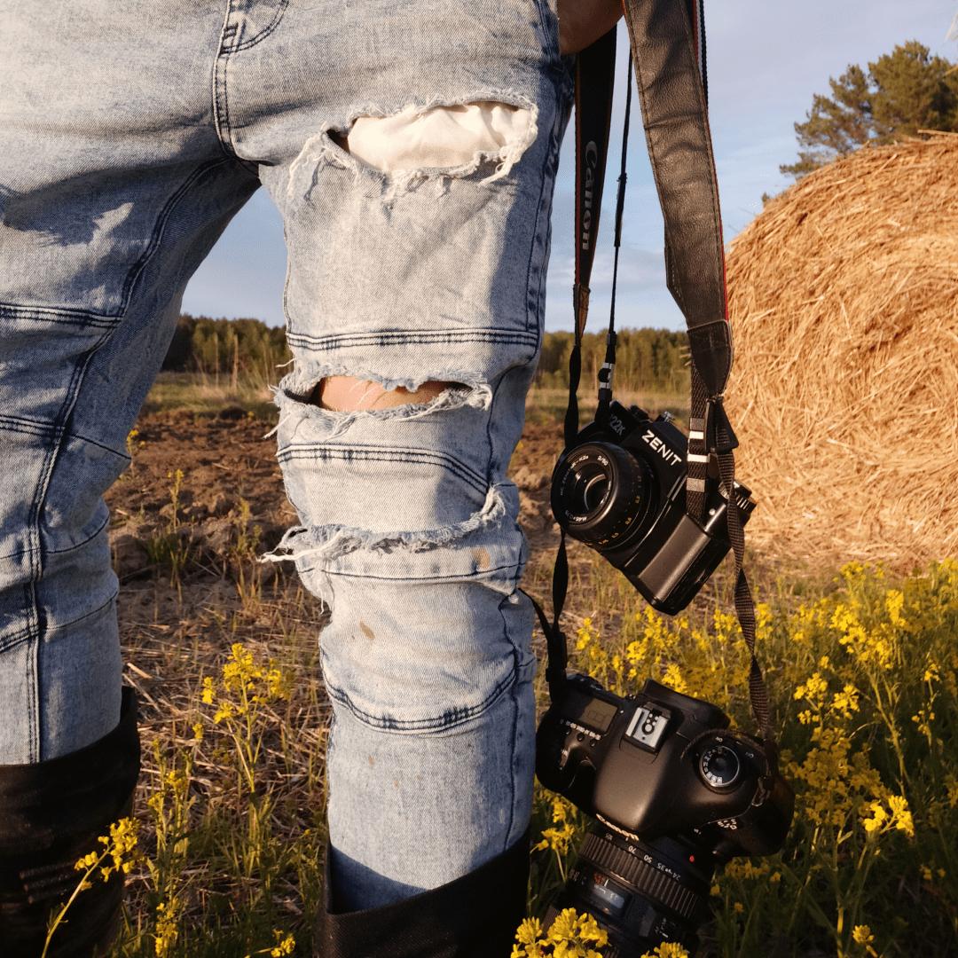 Снимки на фотоаппарат Зенит 122К
