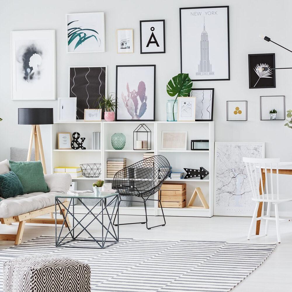 Как развесить фотографии на стене | Фотография OKEBLOG